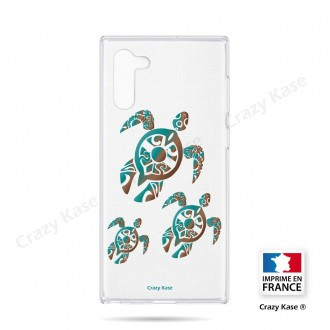 Coque compatible Galaxy Note 10 souple Famille Tortue - Crazy Kase