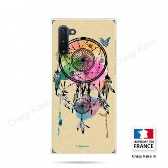 Coque compatible Galaxy Note 10 souple Attrape rêve et papillon - Crazy Kase