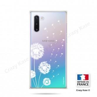 Coque compatible Galaxy Note 10 souple Fleurs de pissenlit - Crazy Kase