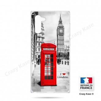 Coque compatible Galaxy Note 10 souple Londres -  Crazy Kase