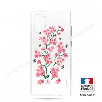 Coque compatible Galaxy Note 10 Plus souple Fleurs de Sakura - Crazy Kase