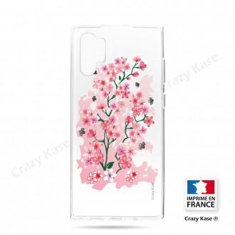 Coque compatible Galaxy Note 10 Plus souple Fleurs de Cerisier - Crazy Kase