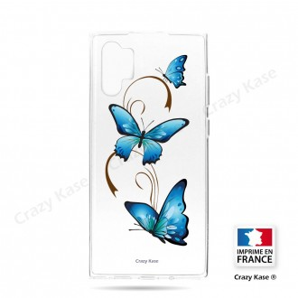Coque compatible Galaxy Note 10 Plus souple Papillon sur Arabesque - Crazy Kase
