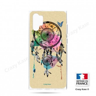 Coque compatible Galaxy Note 10 Plus souple Attrape rêve et papillon - Crazy Kase