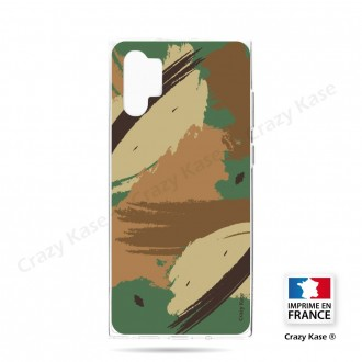 Coque compatible Galaxy Note 10 Plus souple Camouflage - Crazy Kase
