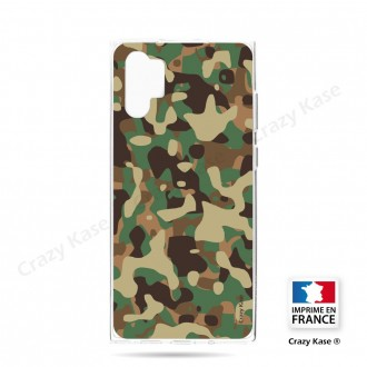 Coque compatible Galaxy Note 10 Plus souple Camouflage militaire - Crazy Kase