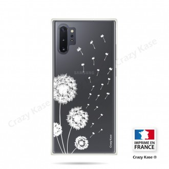 Coque compatible Galaxy Note 10 Plus souple Fleurs de pissenlit - Crazy Kase