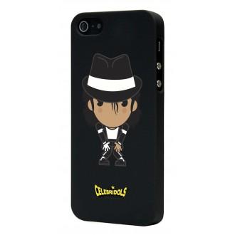 Coque Celebridols noire MJ pour Apple iPhone 5