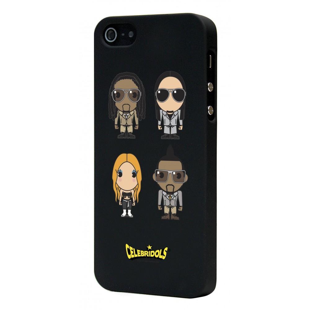 Coque Celebridols noire B.E.P pour Apple iPhone 5