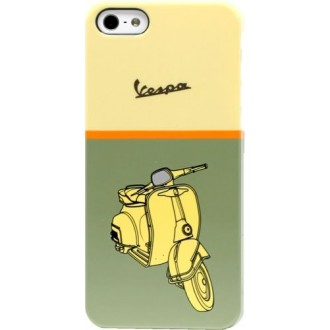Coque Vespa verte motif scooter pour Apple iPhone 5