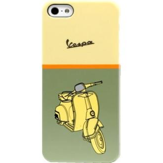 Coque Vespa verte motif scooter pour Apple iPhone 5