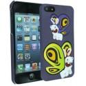 Coque sous Licence Lapins Crétins Butterfly + film de protection pour Apple iPhone 5