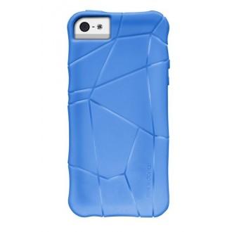 Coque Xdoria stir bleu éléctrique pour Apple iPhone 5
