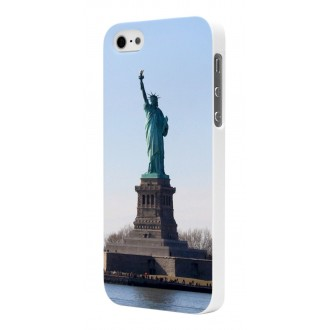 Coque Moxie Rubber Blanche Motif Liberty pour Apple iPhone 5
