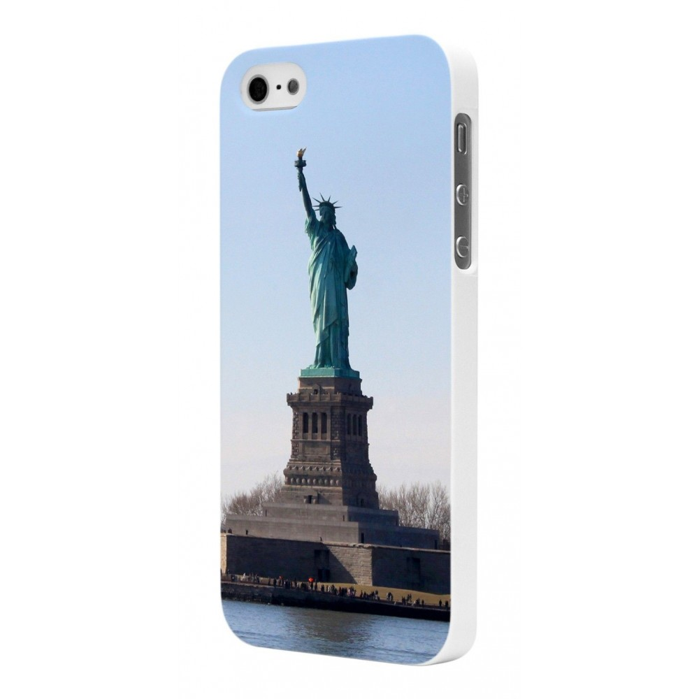 Coque Moxie Rubber Blanche Motif Liberty pour Apple iPhone 5
