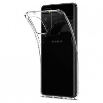 Coque compatible Galaxy S20 Liquid Crystal transparente - Spigen
