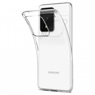 Coque compatible Galaxy S20 Ultra Liquid Crystal transparente - Spigen