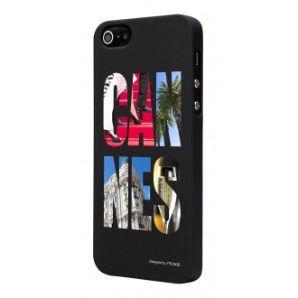 Coque CityArt Cannes by Moxie pour Apple iPhone 5