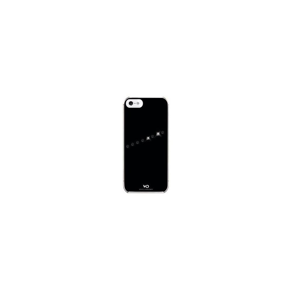 """Coque White Diamonds """"Sash"""" noir pour Apple iPhone 5/5S"""