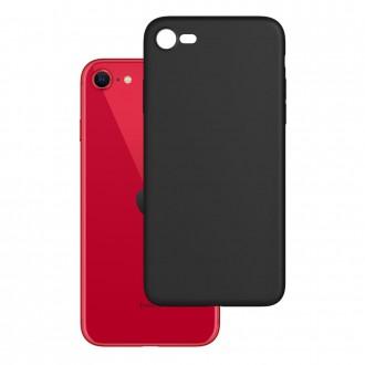 Coque iPhone SE (2020) noir mat 3mk
