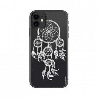 Coque pour iPhone 11 souple motif Attrape Rêves Blanc - Crazy Kase