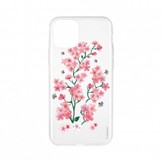 Coque pour iPhone 11 souple motif Fleurs de Sakura - Crazy Kase