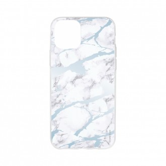 Coque pour iPhone 11 souple effet Marbre bleu - Crazy Kase