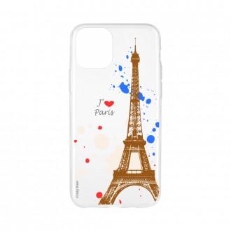 Coque pour iPhone 11 souple Paris - Crazy Kase