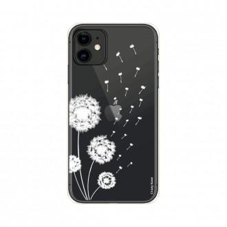 Coque pour iPhone 11 souple Fleurs de pissenlit - Crazy Kase
