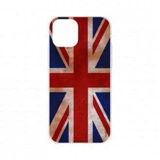 Coque pour iPhone 11 souple motif Drapeau UK vintage - Crazy Kase
