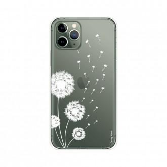 Coque pour iPhone 11 Pro souple Fleurs de pissenlit - Crazy Kase