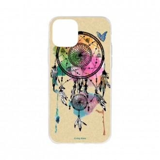 Coque pour iPhone 11 Pro souple motif Attrape rêve et papillon - Crazy Kase
