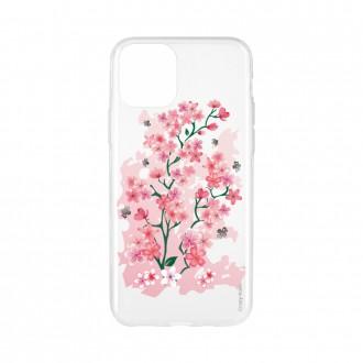 Coque pour iPhone 11 Pro souple motif Fleurs de Cerisier - Crazy Kase