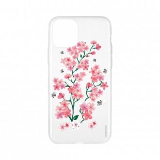 Coque pour iPhone 11 Pro souple motif Fleurs de Sakura - Crazy Kase