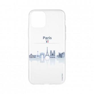 Coque pour iPhone 11 Pro Max souple Monuments de Paris - Crazy Kase