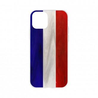 Coque pour iPhone 11 Pro Max souple Drapeau Français Vintage - Crazy Kase