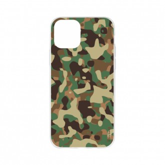 Coque pour iPhone 11 Pro Max souple motif Camouflage militaire - Crazy Kase