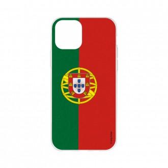 Coque pour iPhone 11 Pro Max souple motif Drapeau Portugais - Crazy Kase