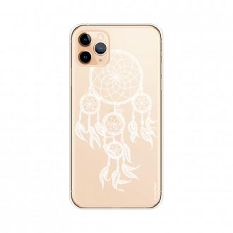 Coque pour iPhone 11 Pro Max souple motif Attrape Rêves Blanc - Crazy Kase