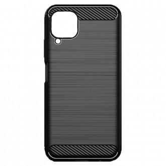 Coque Huawei P40 Lite effet carbone Noir