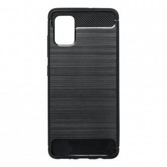 Coque pour Samsung Galaxy A51 Noir souple effet carbone - Crazy Kase