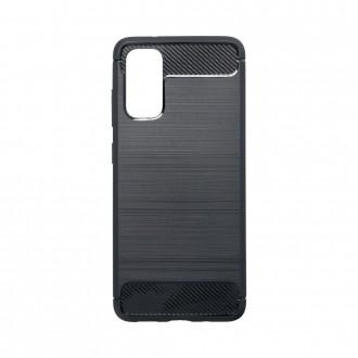 Coque pour Samsung Galaxy S20 Noir souple effet carbone - Crazy Kase