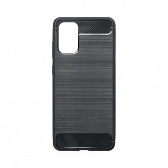 Coque pour Samsung Galaxy S20 Plus Noir souple effet carbone - Crazy Kase