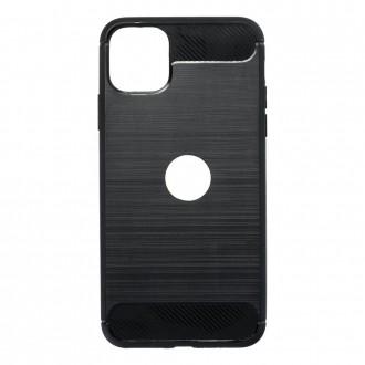 Coque pour iPhone 11 Pro Max Noir souple effet carbone - Crazy Kase