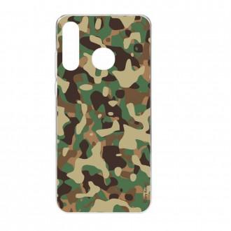 Coque Huawei P30 Lite  souple motif Camouflage militaire - Crazy Kase