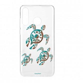 Coque Huawei P30 Lite  souple motif Famille Tortue - Crazy Kase