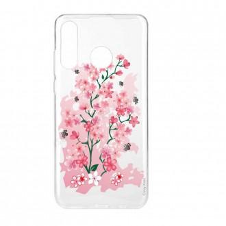 Coque Huawei P30 Lite  souple motif Fleurs de Cerisier - Crazy Kase