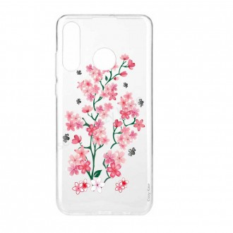 Coque Huawei P30 Lite  souple motif Fleurs de Sakura - Crazy Kase