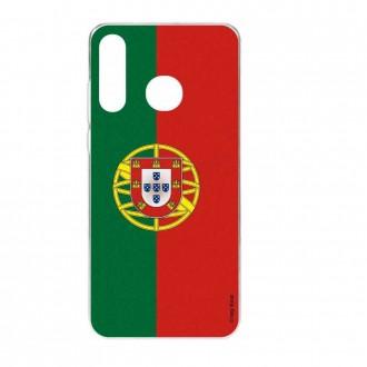 Coque Huawei P30 Lite  souple motif Drapeau Portugais - Crazy Kase