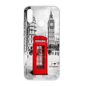 Coque Huawei P Smart 2019 souple motif Londres -  Crazy Kase